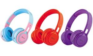 Contixo KB2600 Kid-Safe Foldable Wireless Bluetooth Headphones