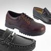 Academie Boys' Genuine Leather Shoes