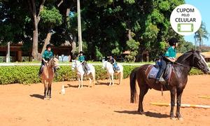 Escola de Equitação da Hípica: 1 aula de equitação na Escola de Equitação da Hípica – Setor Hípico de Brasília