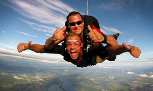 C$189 for Tandem Parachute Jump Package for One Person at GO Skydive (C$299 Value)