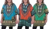 Dashiki Free Size Tunic with Hood