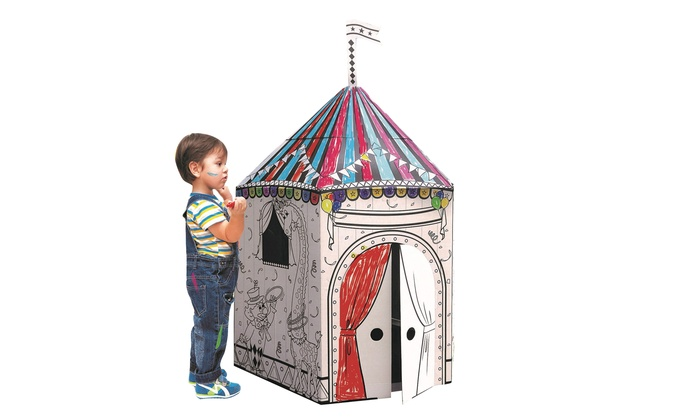 My Little Coloring Playhouse | Groupon Goods