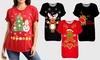T-shirt avec imprimé de Noël