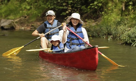 Canoe Tour or Canoeing and Miniature Golf Package from The Original Hocking Hills Adventures (Up to 47% Off)
