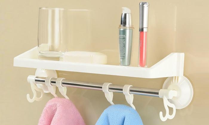 bathroom shelf organiser