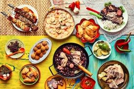 Restaurant Colibri: Menu Brésilien pour 2 (entrée plat ou plat dessert) à 29,90 € au Restaurant Colibri