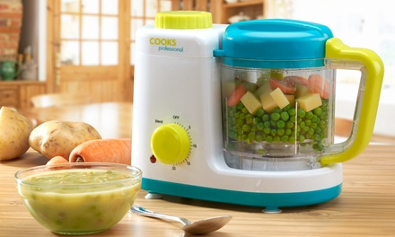 Cooks Professional Baby Food Steamer and Blender