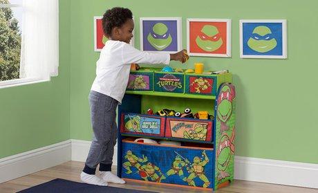 Delta Children's Licensed Multi-Bin Toy Organizer