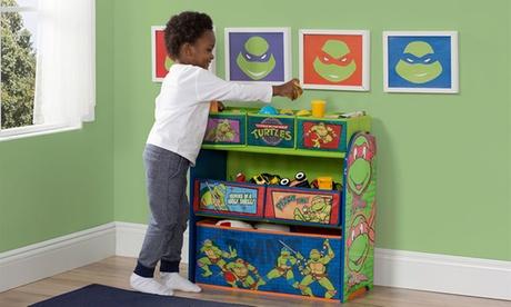 Delta Children's Licensed Multi-Bin Toy Organizer ea26a856-035e-11e7-8622-002590604002