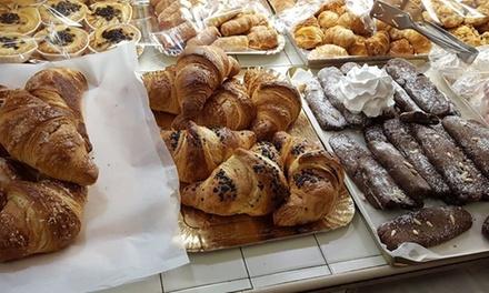 1 kg di pane, dolci, affettati e vino del Panificio Dolce Forno. Consegna gratis a domicilio