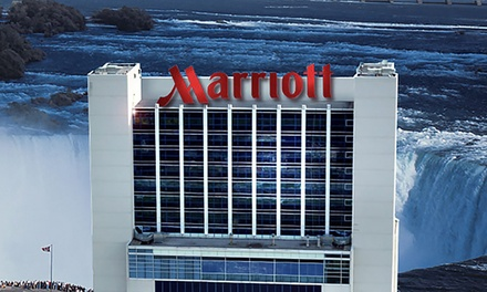 4-Star Marriott with Niagara Falls Views and Wine and Dine Package