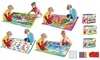 Zummy Kids Washable Coloring Play Mat & Apron w/ 12 Washable Markers