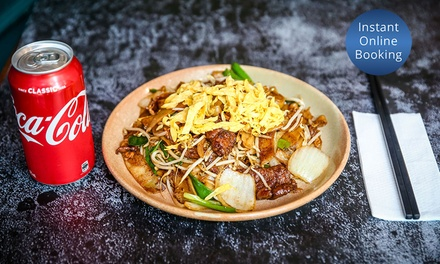 Noodle or Rice Dish with Soft Drink Each for One $9.50 or Two People $19 at The Bun Gallery Up to $33 Value