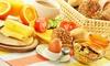 Café Decker  - Cafe Decker: Frühstücksbrunch mit süßen und herzhaften Köstlichkeiten sowie Prosecco oder O-Saft für 2 bis 4 Personen im Café Decker