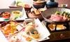 兵庫県/六甲山 ≪神戸牛すき焼き、松茸土瓶蒸しなど特別ランチコース6品≫
