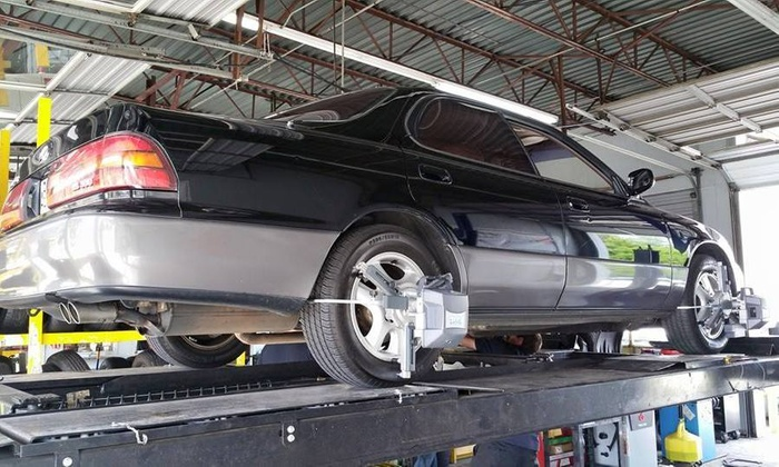 ALL 4 TIRES - All 4 Tires: Up to 63% Off 3D Wheel Alignment Package at ALL 4 TIRES