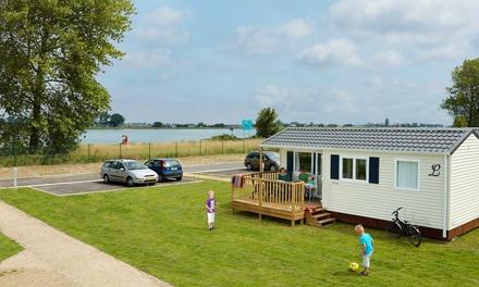 Belgische kust: midweek/weekend in luxe stacaravan voor 4 of 6 personen bij Camping Nieuwpoort