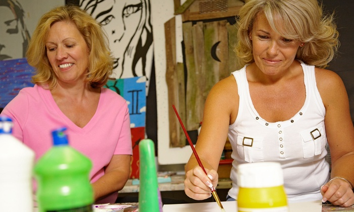 Art, Wine & Tango - Multiple Locations: BYOB Art Class for One, Two, Four, or Six at Art, Wine & Tango (Up to 57% Off)