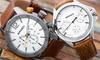 Horloge met datumaanduiding