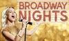 "Musicalgala ""Broadway Nights"""