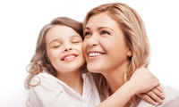 Mother and Daughter Photoshoot with Canvas Print and Digital File at The Penthouse Studio (98% Off)