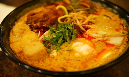 $8 for a Choice of Laksa, Rendang or Curry at Laksa King Up to $13 Value