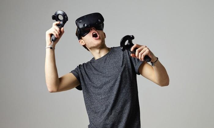 Le Studio De Réalité Virtuelle - Le Studio De Réalité Virtuelle: Session de réalité virtuelle pour 2 personnes d'1h à 24,90 € à la salle d'arcade Le Studio De Réalité Virtuelle