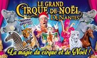 1 place en tribune d'honneur pour le Grand Cirque de Noël, date au choix, à 10 € à Saint-Nazaire et à Nantes