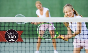 Grand Slam Tennis: One-Hour Tennis Lesson and Court Hire for One ($29), Two ($49), or Four ($79) at Grand Slam Tennis (Up to $200 Value)