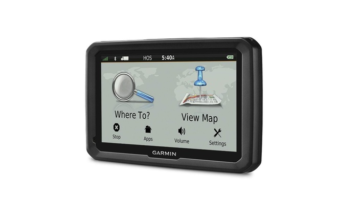 """Garmin Dezl 5"""" Truck GPS Navigation System with Lifetime Map and Traffic Updates"""