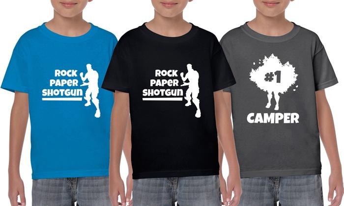 Fortnite Rockcamper T ShirtGroupon Kids Kids Rockcamper Fortnite OkXn08wP