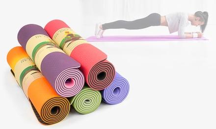Powertrain Eco-Friendly TPE Yoga Exercise Pilates Mat