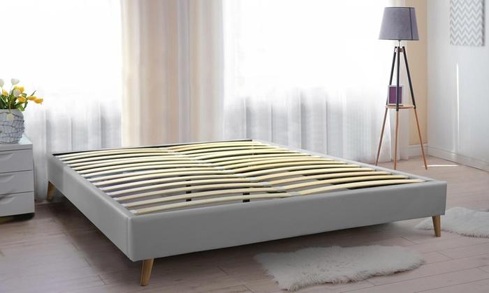 lit scandinave stockholm groupon shopping. Black Bedroom Furniture Sets. Home Design Ideas
