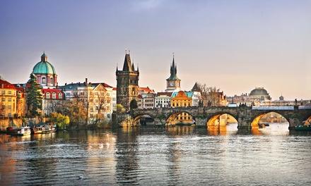 ✈Praga, Viena, Bratislava y Budapest: 8 noches con desayuno, vuelo de ida y vuelta y traslado entre ciudades para 1