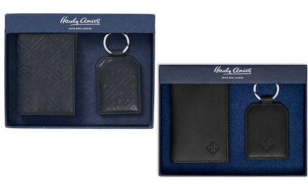 Men's Card Holder Gift Set
