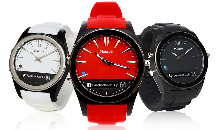 09603ad15ad Martian Notifier Smartwatch