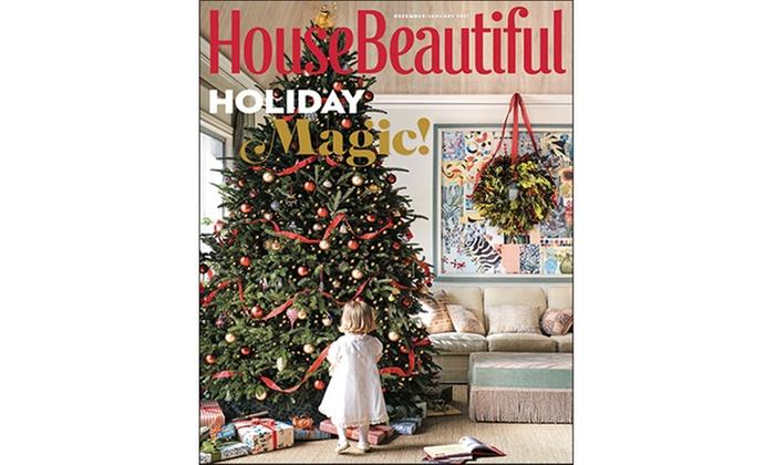 House Beautiful Subscription Groupon Goods
