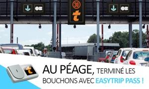 Easytrip: Télépéage : gagnez du temps aux barrières de péage avec le badge Liber-t Easytrip Pass à 8 € (50% de réduction)