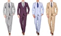 Braveman Men's Spring Collection Slim-Fit Suit (2-Piece)