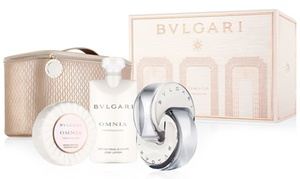 Bvlgari Omnia Crystalline Eau de Toilette for Women Set (4-Piece)