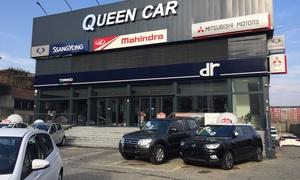 Queen Car: Tagliando auto per tutte le cilindrate e kit di distribuzione all'officina Queen Car (sconto fino a 84%)