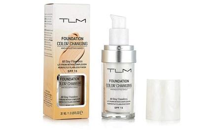 Liquid Foundation Color Changing 30 ml van het merk TLM