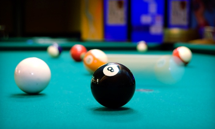 Pressure Billiards and Cafe - Edgewater: Billiards Outing for Two or Four or $10 for $20 Worth of Billiards and American Food at Pressure Billiards and Cafe