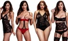Baci Women's Lacy or Strappy Sexy Lingerie. Plus Sizes Available.: Baci Women's Lacy or Strappy Sexy Lingerie. Plus Sizes Available.