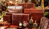 Madison Leather & Luggage - Del Mar: Leather Goods, Luggage, and Accessories at Madison Leather & Luggage (50% Off). Three Options Available.
