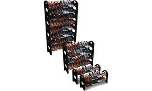 Stackable and Detachable Shoe or Boot Racks