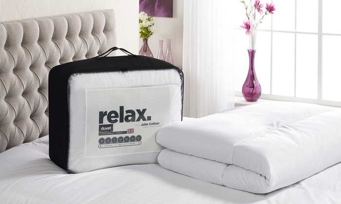 John Cotton Relax Duvet (£8)