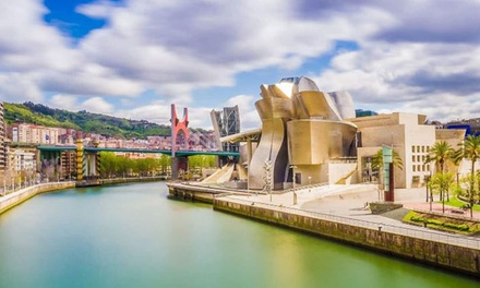 Bilbao: 1 noche en habitación doble o twin para 2 personas y desayuno en Ilunion Bilbao