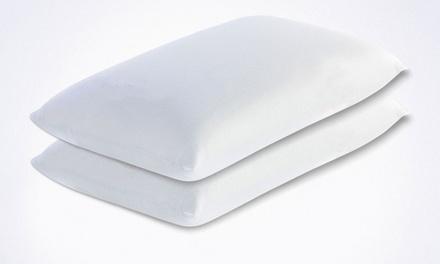 Coppia di cuscini fiocco di Memory Made in Italy