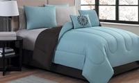 Deals on Reversible Lightweight Comforter Set w/Sheets 9-Piece King